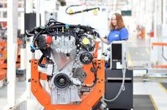 Motorfabrik Royaltyfria Foton