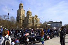 Motorfest Varna Bulgarien Stockfotos