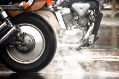 Motorfiets Stock Foto
