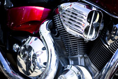 Motorfiets Royalty-vrije Stock Afbeeldingen
