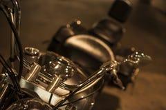 Motorfiets, bijl Royalty-vrije Stock Fotografie