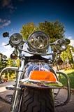 Motorfiets, detail Royalty-vrije Stock Afbeelding