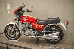 Motorfiets FDNY royalty-vrije stock foto's