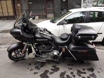 motorfiets Harley Davidson Royalty-vrije Stock Afbeeldingen