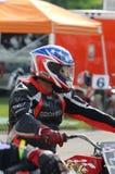 Motorfiets het rennen trefpunt Royalty-vrije Stock Afbeelding