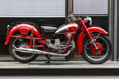 Motorfiets Moto Guzzi Airone stock afbeeldingen