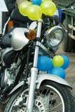 Motorfiets op verkoop. royalty-vrije stock fotografie