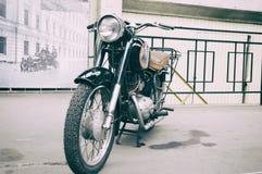 Motorfiets Pannonia t-5 Royalty-vrije Stock Foto's