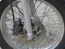 Motorfiets Whee Stock Afbeelding