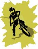 Motorfietsachtergrond Royalty-vrije Stock Foto's