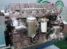 Motorfietsbenzine van brandstof voorzien motor royalty-vrije stock afbeeldingen