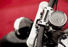 Motorfietsdetail Stock Foto's