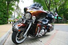 Motorfietsdetails motorrijders royalty-vrije stock foto's
