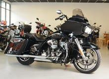 Motorfietsen Harley Davidson Road Glide 2015 royalty-vrije stock foto