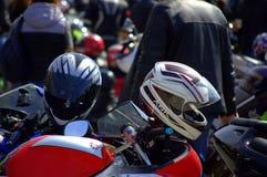 Motorfietsen in Motofest Stock Foto's
