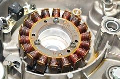 Motorfietsgenerator Stock Afbeeldingen