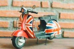 Motorfietsmodel royalty-vrije stock foto's