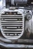 Motorfietsmotor, vervangstukken Stock Fotografie