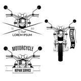 Motorfietspictogrammen Royalty-vrije Stock Fotografie
