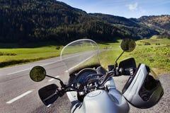 Motorfietsreis royalty-vrije stock foto