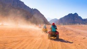 Motorfietssafari Egypte Royalty-vrije Stock Afbeelding