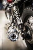 Motorfietsuitlaatpijp Royalty-vrije Stock Foto's