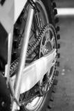 Motorfietswiel Royalty-vrije Stock Afbeeldingen