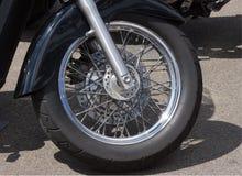 Motorfietswiel Stock Foto