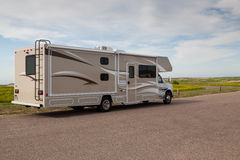 Motorhome Adventure Stock Images