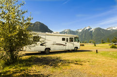 Motorhome in Canada Royalty Free Stock Image