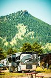 Motorhome Lifestyle Royalty Free Stock Photo