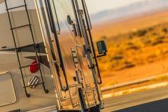 Motorhome RV Travel royalty free stock photography