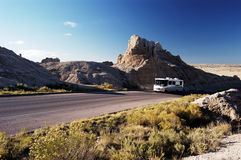 Motorhome travel 1 Royalty Free Stock Photography