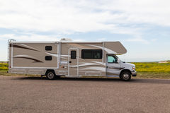 Motorhome Vacation Royalty Free Stock Photo