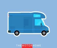 Motorhome vehicle  Royalty Free Stock Image