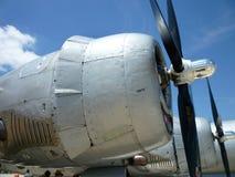 Motori del bombardiere B29 Fotografie Stock
