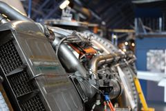 Motori del macchinario di Machincal fotografia stock