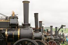 Motori di trazione ad una fiera del vapore fotografie stock libere da diritti