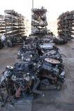 Motori e parti di recambio utilizzati fotografie stock libere da diritti