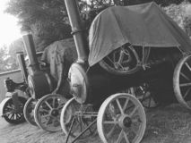Motori a vapore d'annata fotografia stock