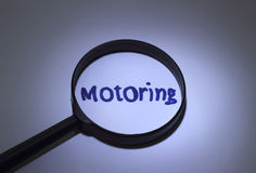 motoring Photo libre de droits