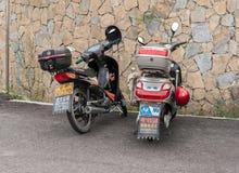 Motorini cinesi Fotografia Stock