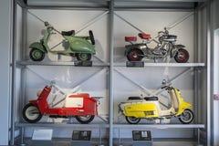 Motorini classici Immagini Stock