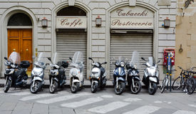 Motorini italiani (ii) Fotografie Stock