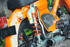 Motorino del ciclomotore, Bali Fotografia Stock