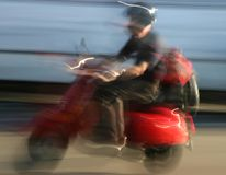 Motorino della sfuocatura Fotografia Stock Libera da Diritti