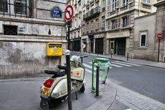 Motorino della vespa, Parigi fotografia stock