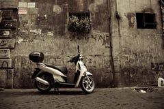 Motorino a Roma fotografia stock libera da diritti