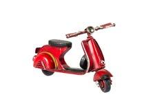 Motorino rosso Immagine Stock