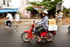 Motorino vietnamita Fotografie Stock